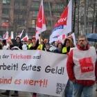 Tarifrunde: Streik bei Telekom am Mittwoch auf Höhepunkt