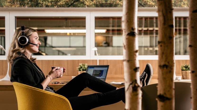 Entspanntes Arbeiten auf dem Bosch IoT-Campus in Berlin