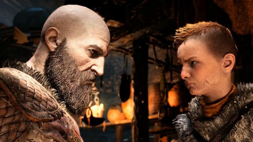 Zwischen Vater Kratos und Sohn Atreus gibt es anfangs gewisse Spannungen ...