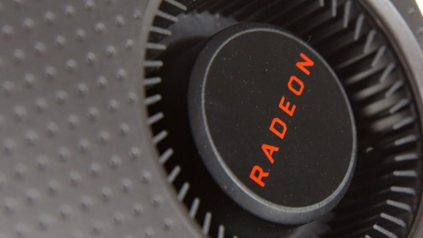 Lüfter einer Radeon-Karte