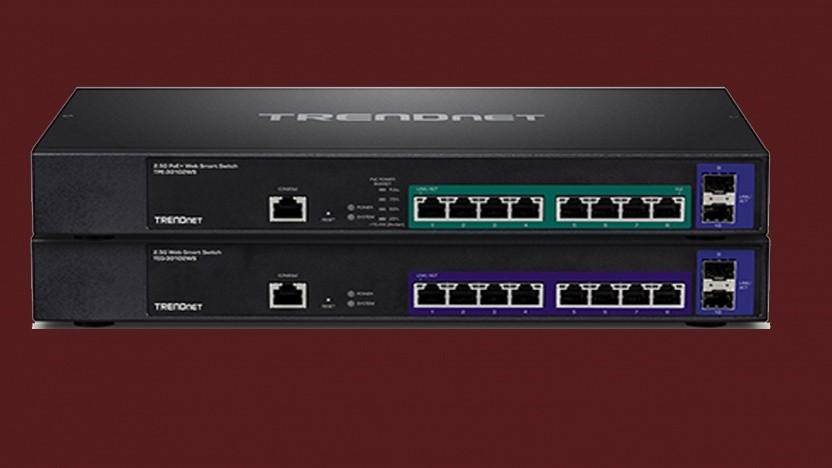Die Trendnet-Switches verfügen über jeweils acht Ports.