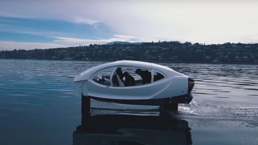 Sea Bubbles auf dem Genfer See: Sorge um zu viel Bootsverkehr auf dem Gewässer