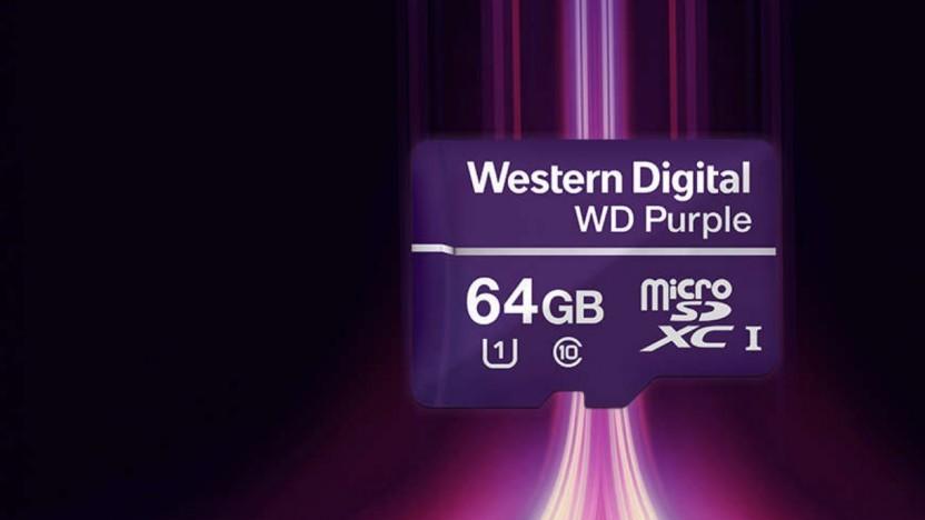 Die WD Purple gibt es jertzt auch mit sehr kleinen Kapazitäten.