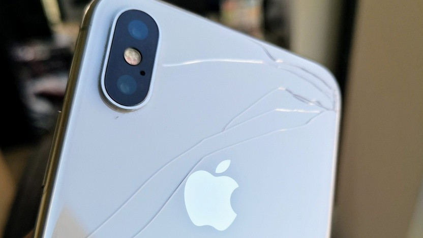 Dieses iPhone benötigt früher oder später eine Reparatur.