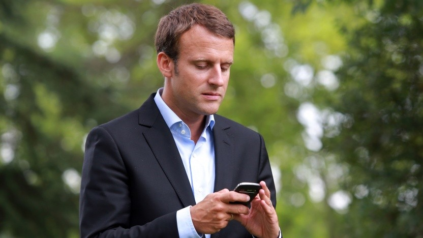 Der französische Präsident Emmanuel Macron gilt eigentlich als Fan von Telegram.