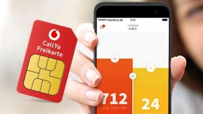 Vodafone hat die Callya-Flex-App repariert.