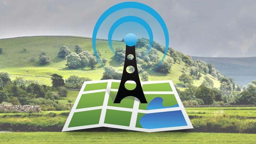 Im ländlichen Raum machen zahlreiche Funklöcher die Nutzung von Onlinediensten per Smartphone unmöglich.