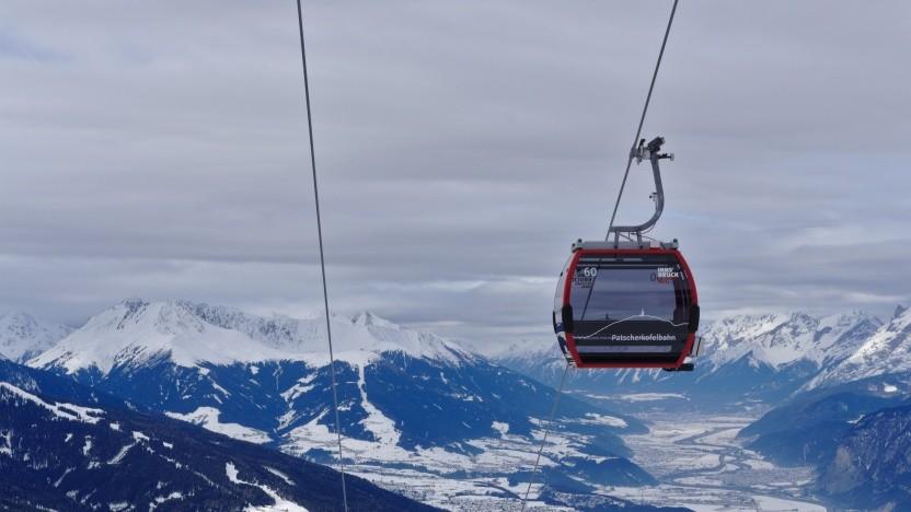 Die Patscherkofelbahn bei Innsbruck