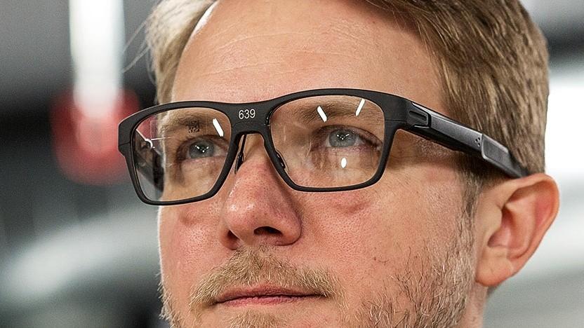 Intels Vaunt sieht aus wie eine normale Brille.