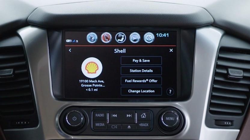 Benzin im Auto bezahlen bei Shell