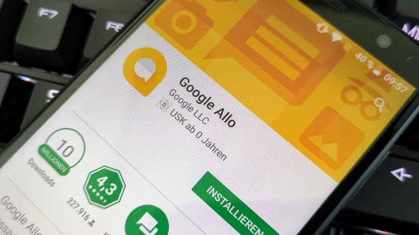 Googles Chat-App Allo wird wohl der Weiterentwicklung von Android Messages zum Opfer fallen.