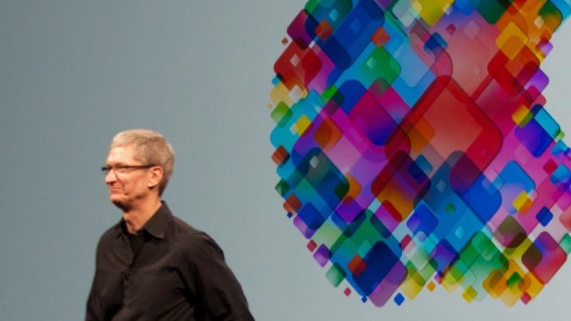 Apple-CEO Tim Cook auf der WWDC 2012