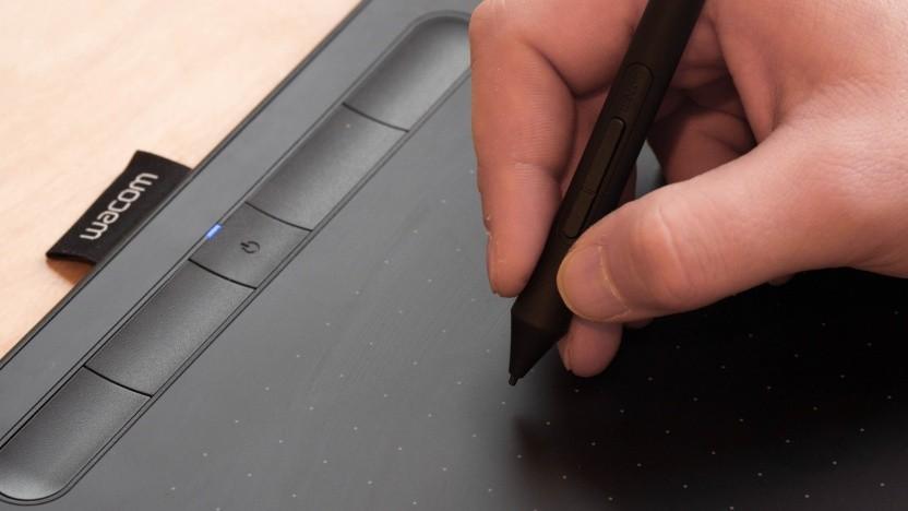 Das Wacom Intuos ist ein kompaktes Stift-Tablet.