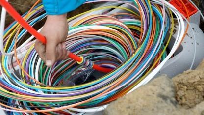 Ein umfassender Glasfaserausbau könnte sich über mehr als zehn Jahre hinziehen.