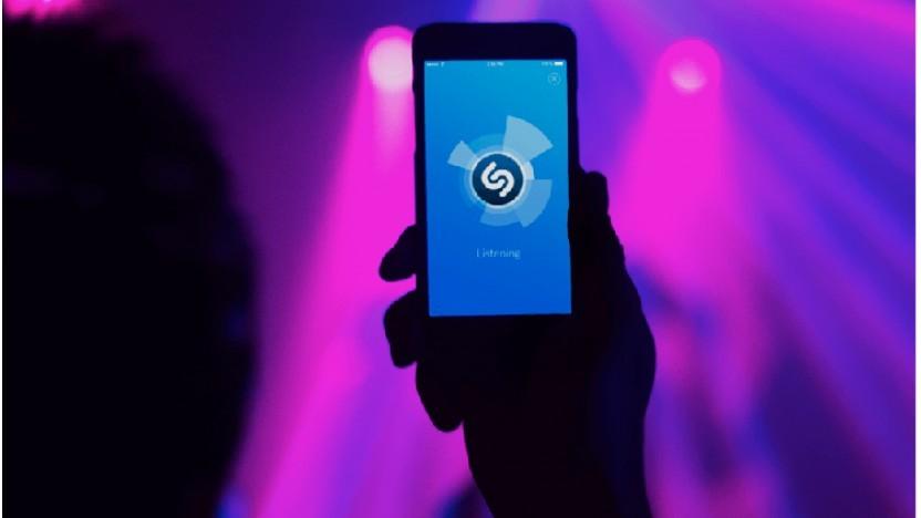 Shazam auf dem Smartphone