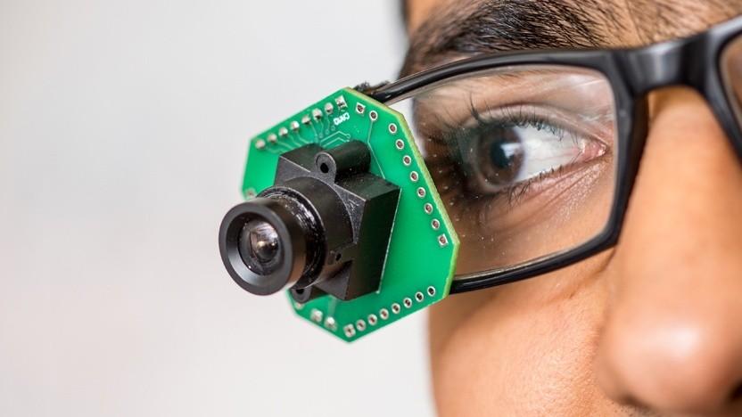 Eine solche Kamera kommt mit wenig Strom aus.