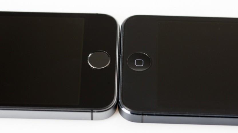 Der Fingerabdrucksensor des iPhone 5S (l.) nutzt einen speziellen Chip samt besonderem Betriebssystem. RISC-V soll das auch bieten.