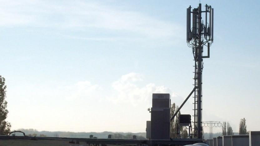 Mobilfunkantenne der Telefónica