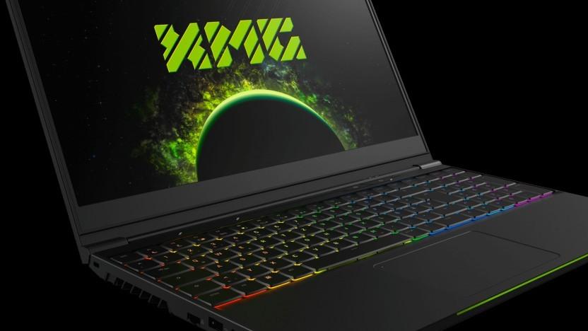 Das XMG Neo 15 hat eine mechanische Tastatur.