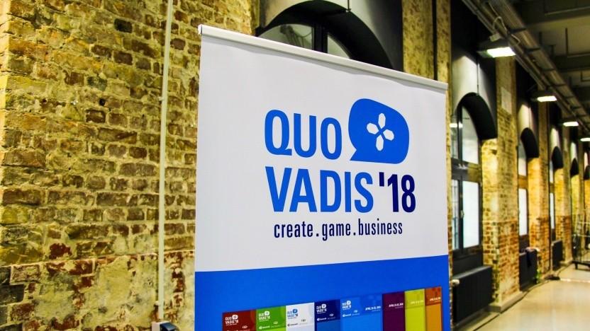 Auf der Quo Vadis 2018 hat der Game seine Vorstellungen für Spieleförderung durch den Bund präsentiert.