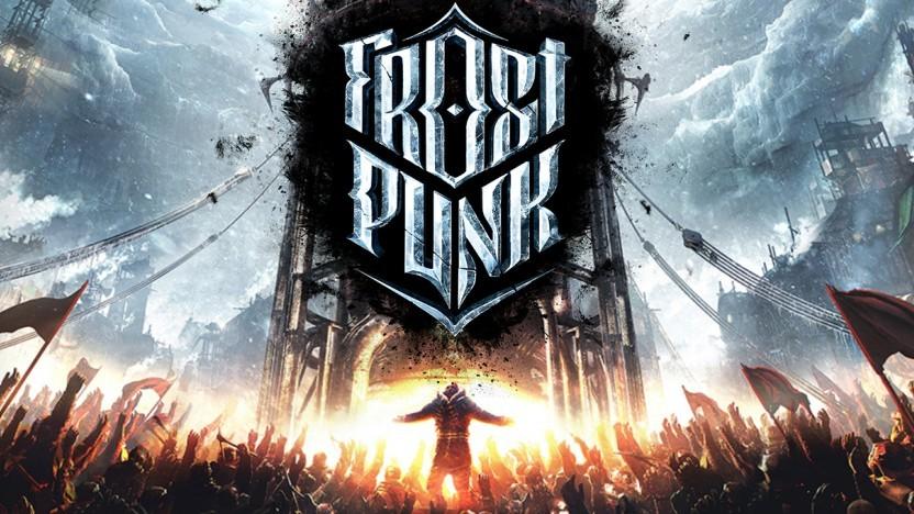 Logo und Artwork zu Frostpunk