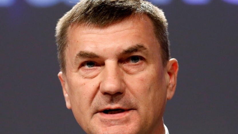EU-Vizekommissionspräsident Andrus Ansip
