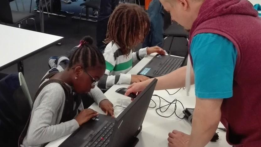 Kinder so früh wie möglich begeistern: Programmierkurs am Hasso-Plattner-Institut