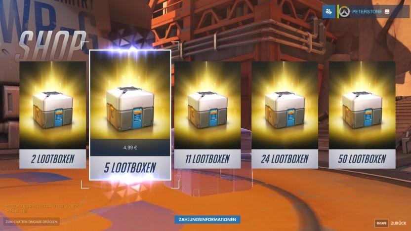 Lootboxen in Overwatch