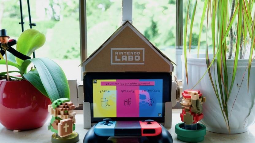 Das Nintendo-Labo-Haus im Alltag