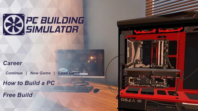Der PC Building Simulator ist beliebt.