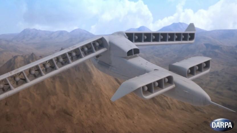 Konzept für XV-24 X-Plane: innovative Luftfahrttechniken