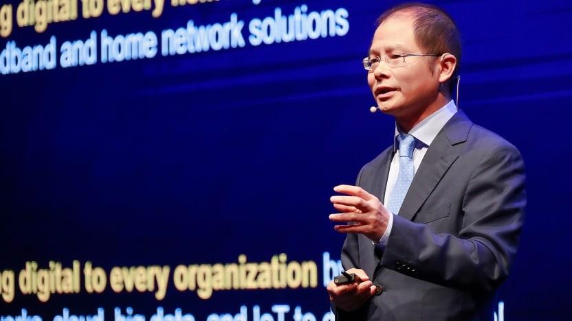 Eric Xu, Vorstandsvorsitzender von Huawei