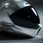 Crosshelmet: Motorradhelm mit Rückwärtskamera für Head-up-Display