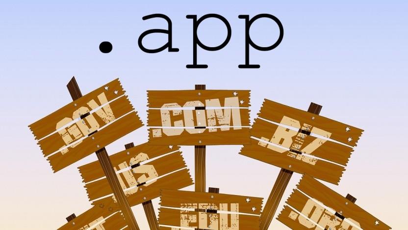 Neben vielen anderen TLDs kommt .app dazu.