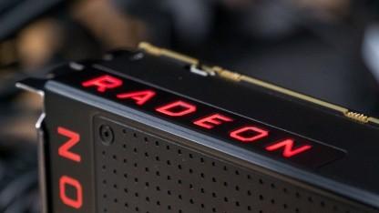 Eine aktuelle Radeon-Grafikkarte von AMD, hier eine Vega 64