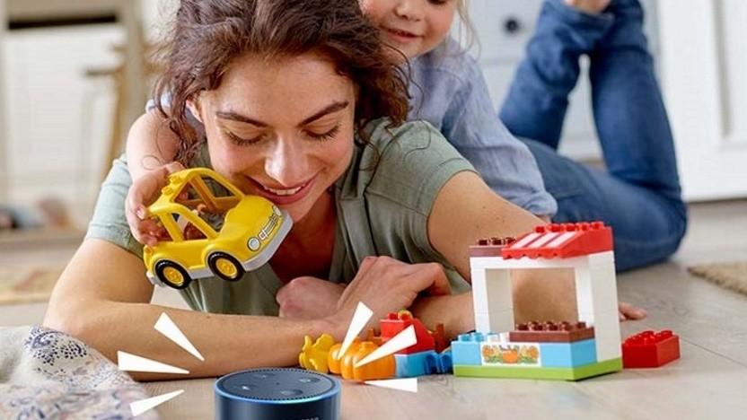 Alexa und Lego bieten Eltern und Kindern eine neue interaktive Anwendung.