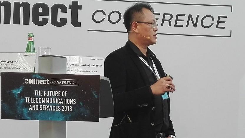 Howy Shu, Senior Director und Head of 5G Wireless Connectivity bei Huawei Technologies