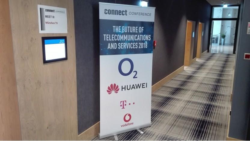 Auf der Connect Conference in München