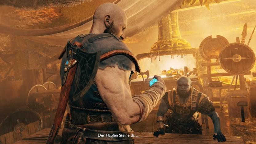 Hauptfigur Kratos in God of War