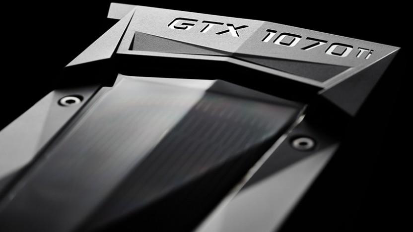Geforce-Grafikkarte von Nvidia