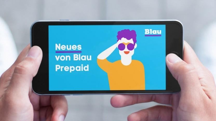 Blau startet neue Surf-Optionen.