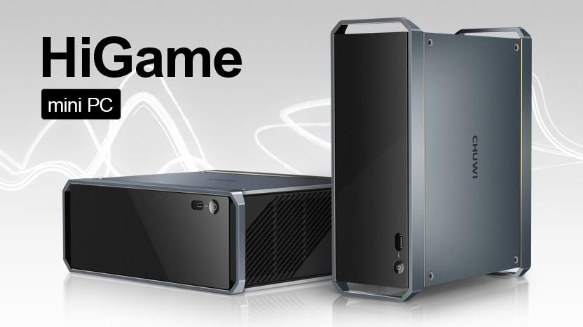 Der HiGame, ein Mini-PC mit KBL-G