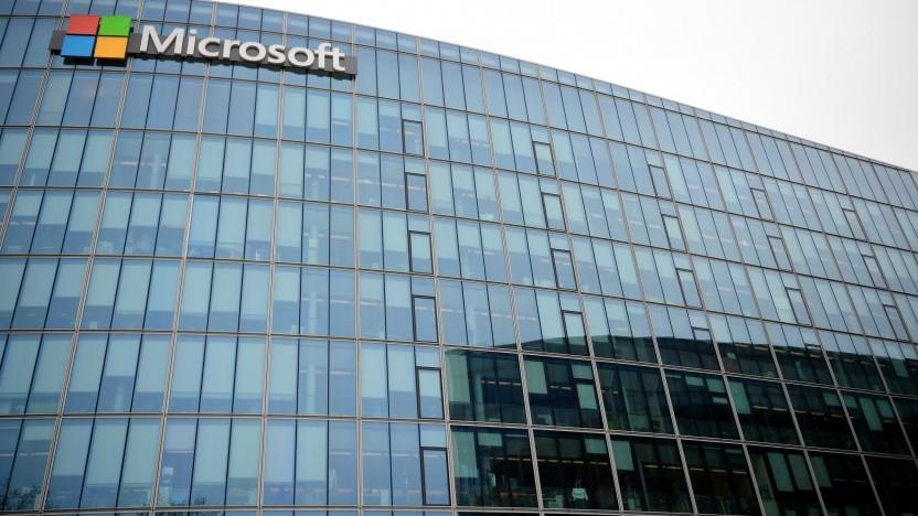 Microsoft-Gebäude (Symbolbild)