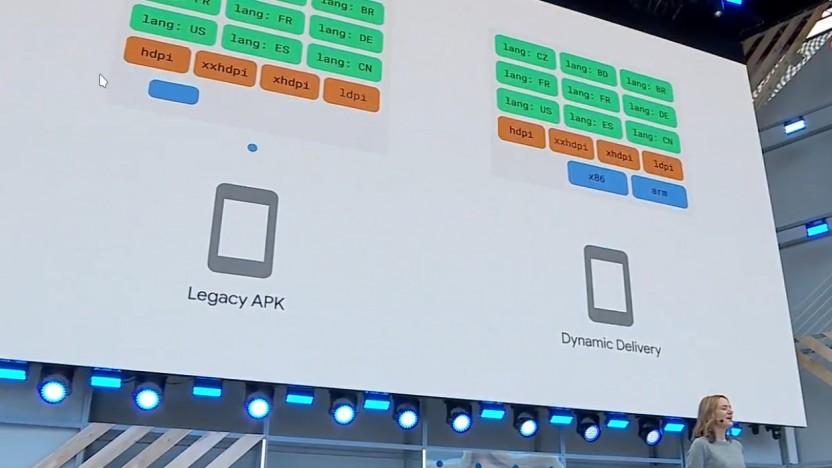 Android Apps bestehen aus vielen Einzelteilen, die nicht alle Nutzer benötigen.