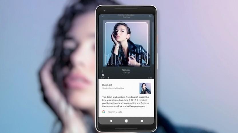 Die Texterkennung von Google Lens