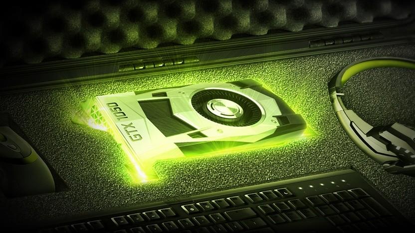 Rendering einer Geforce GTX 1050