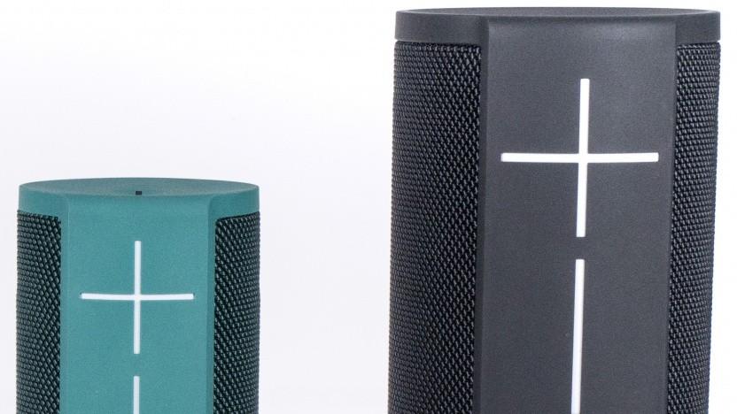 Logitechs Ultimate-Ears-Lautsprecher Blast und Megablast