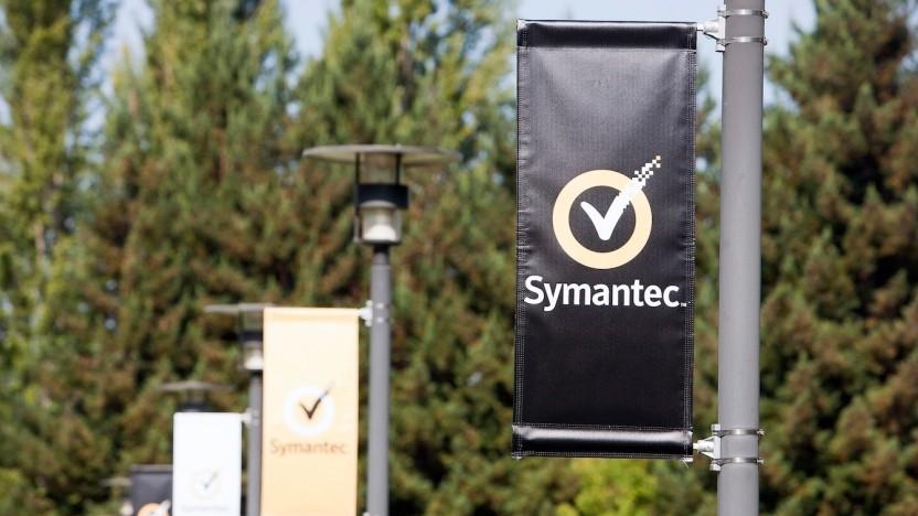 Logo von Symantec
