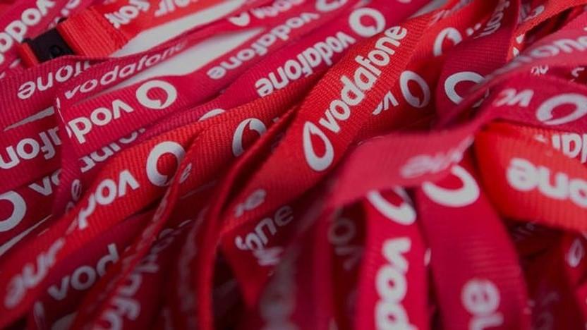 Vodafone-Werbung