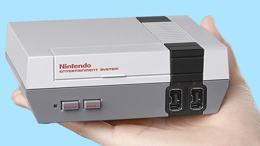 Die NES Classic Mini bietet 30 vorinsallierte Spieleklassiker.